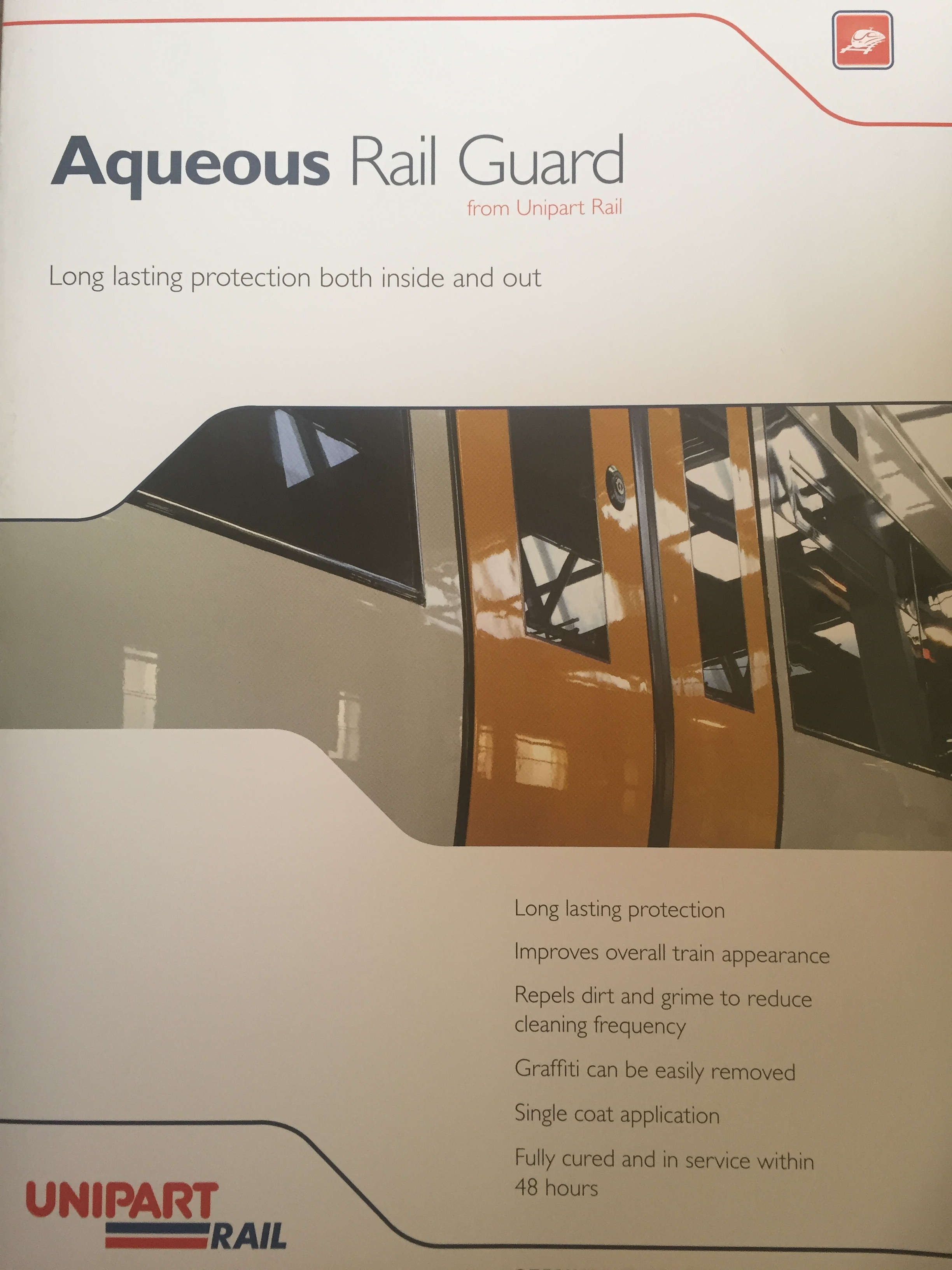 Aqueous Guard® mentioned in Railway News with Unipart Rail